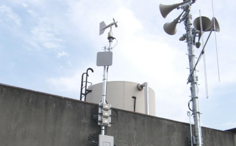 防災行政無線設備工事